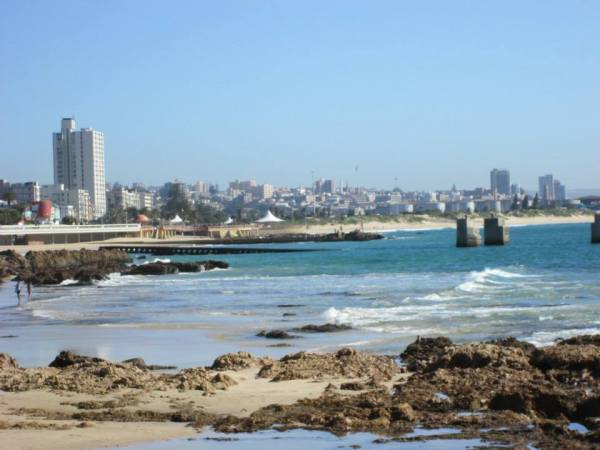 A view of Port Elizabeth, my home for 4 months