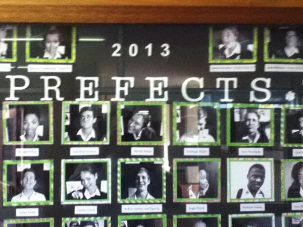 They had prefects at Pearson. Yes, the exist outside of Harry Potter.